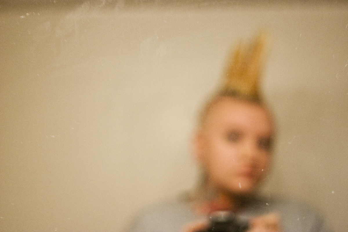 Self portrait | bea huff